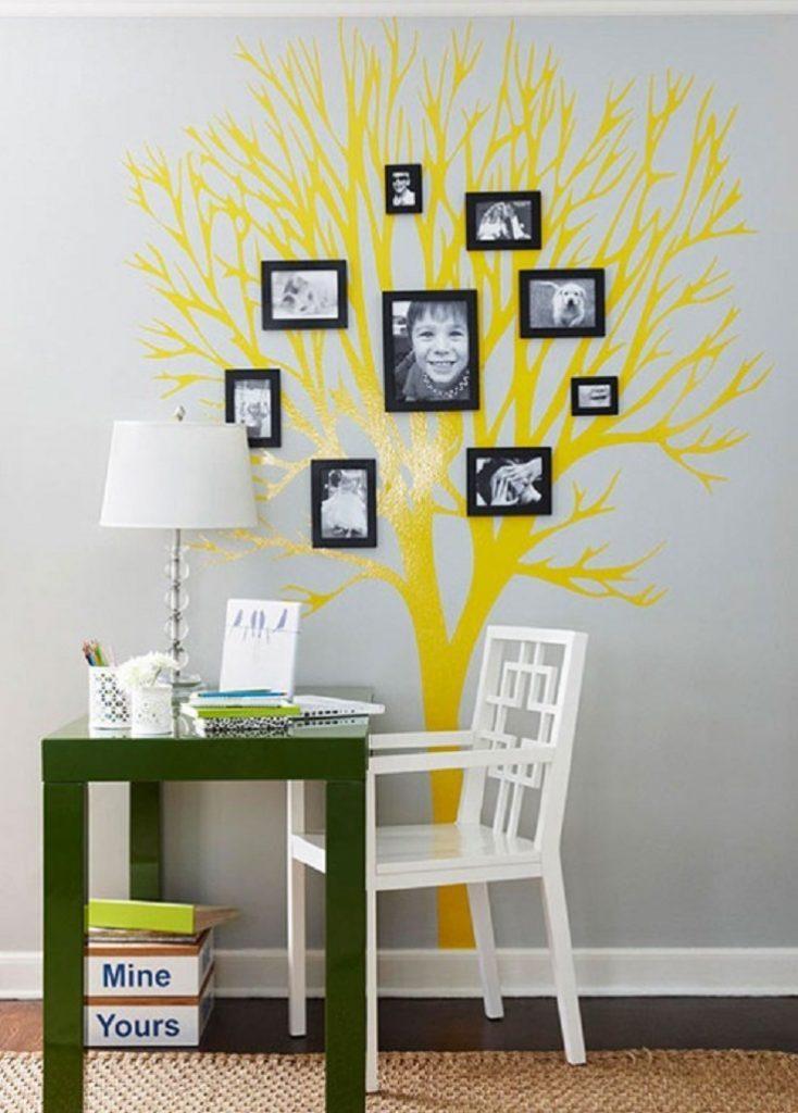 10 Cách treo ảnh gia đình độc đáo và sáng tạo 3
