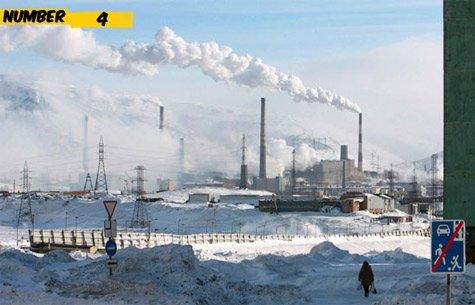 Top 10 bản xếp hạn những thành phố lớn ô nhiễm hàng đầu bật nhất thế giới 4