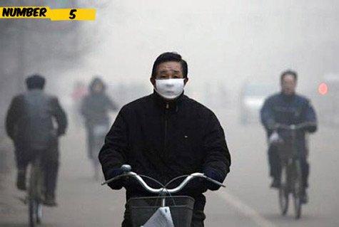 Top 10 bản xếp hạn những thành phố lớn ô nhiễm hàng đầu bật nhất thế giới 5