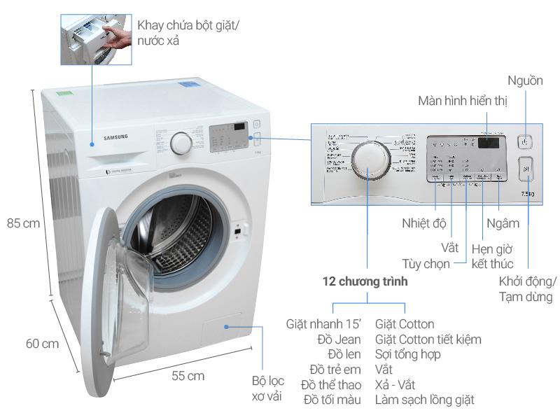 Top 10 máy giặt lồng ngang được đánh giá là sản phẩm tốt nhất và bán chạy nhất hiện nay 1