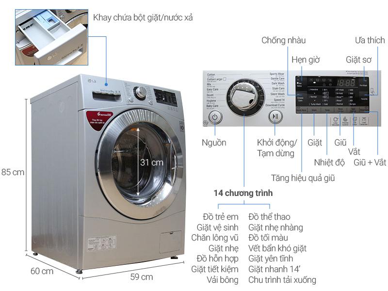 Top 10 máy giặt lồng ngang được đánh giá là sản phẩm tốt nhất và bán chạy nhất hiện nay 10