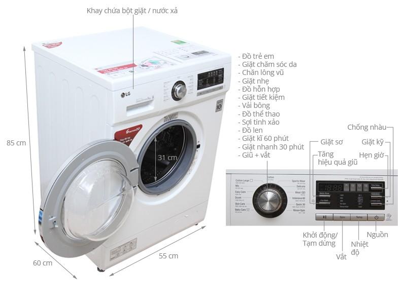 Top 10 máy giặt lồng ngang được đánh giá là sản phẩm tốt nhất và bán chạy nhất hiện nay 4