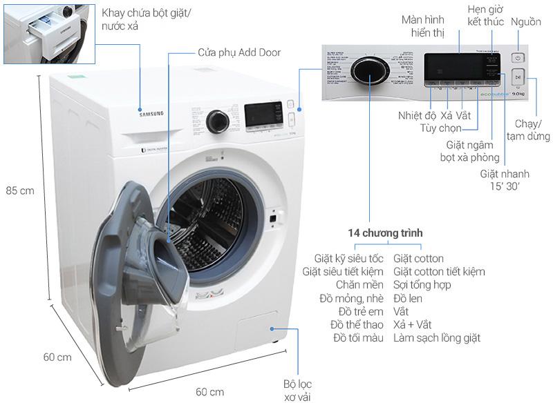 Top 10 máy giặt lồng ngang được đánh giá là sản phẩm tốt nhất và bán chạy nhất hiện nay 9