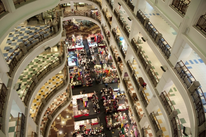 Top 10+ các trung tâm mua sắm lớn nhất thế giới 11