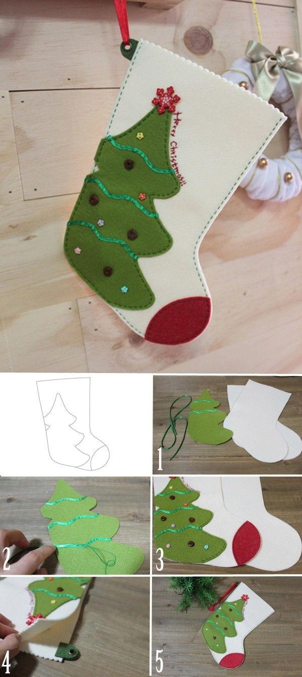 Hướng dẫn bạn làm đồ trang trí Noel cực đẹp đơn giản, dễ làm giúp Noel thêm ý nghĩa 10