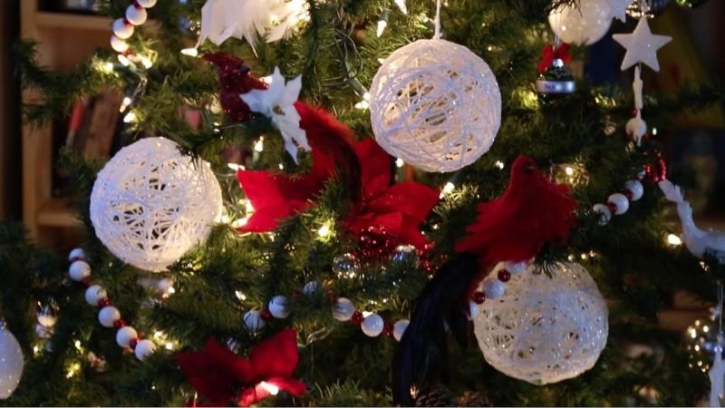 Hướng dẫn bạn làm đồ trang trí Noel cực đẹp đơn giản, dễ làm giúp Noel thêm ý nghĩa 3