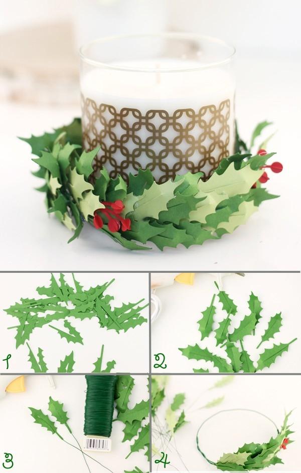 Hướng dẫn bạn làm đồ trang trí Noel cực đẹp đơn giản, dễ làm giúp Noel thêm ý nghĩa 5