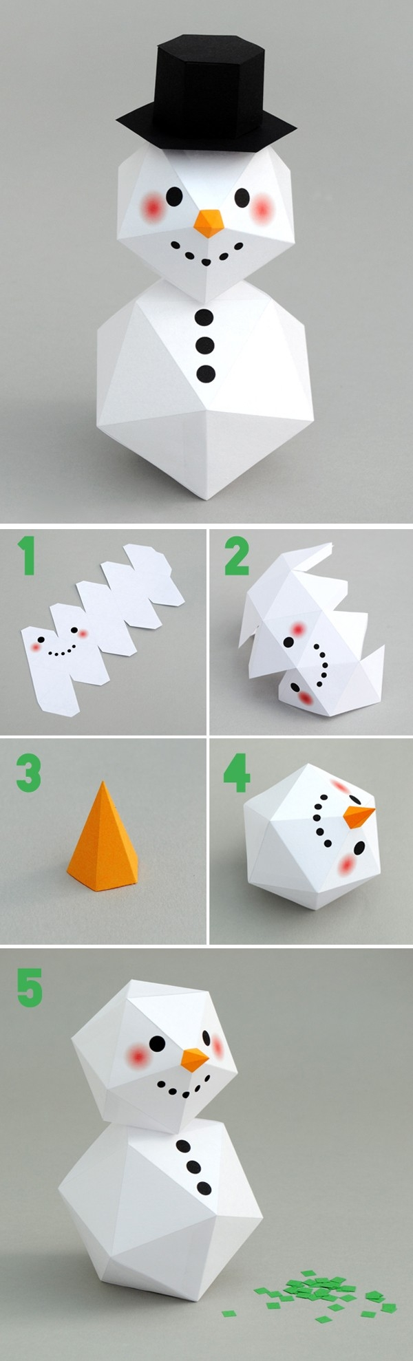 Hướng dẫn bạn làm đồ trang trí Noel cực đẹp đơn giản, dễ làm giúp Noel thêm ý nghĩa 6