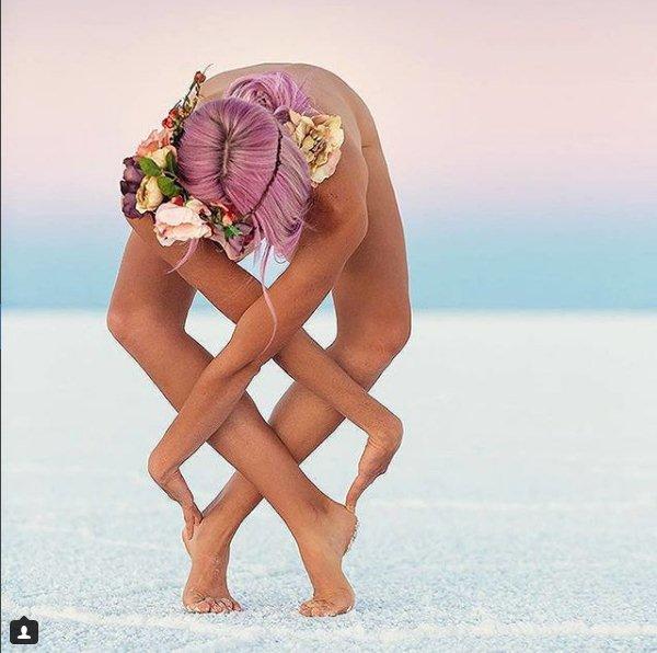 Yoga khỏa thân có gì mà hội chị em thi nhau tập? 7